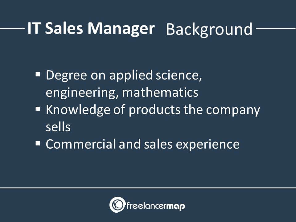 Technical Sales Manager Background