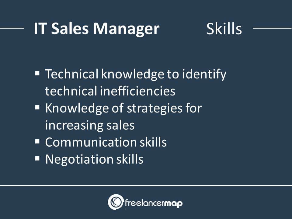Technical Sales Manager Skills
