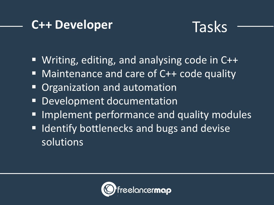 C++ Developer Responsibilities
