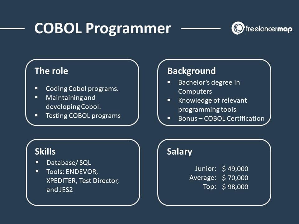 What Does A Cobol Programmer Do   U00bb Skills  Tasks  U0026 Insights