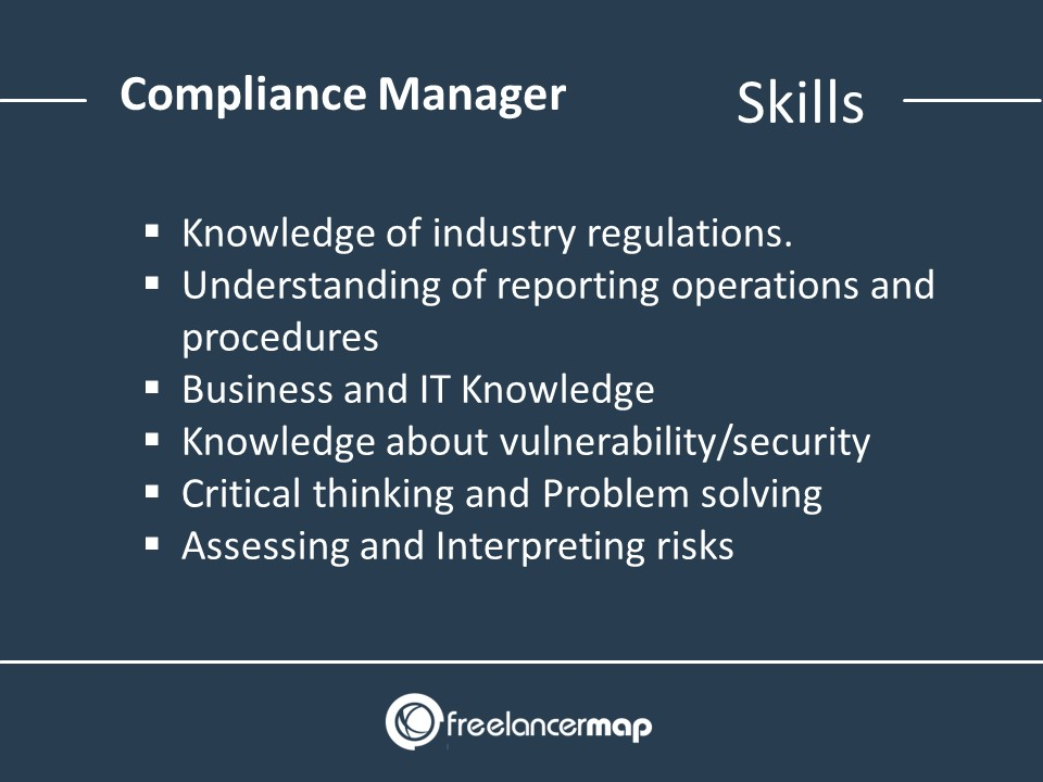 Compliance Manager Skills