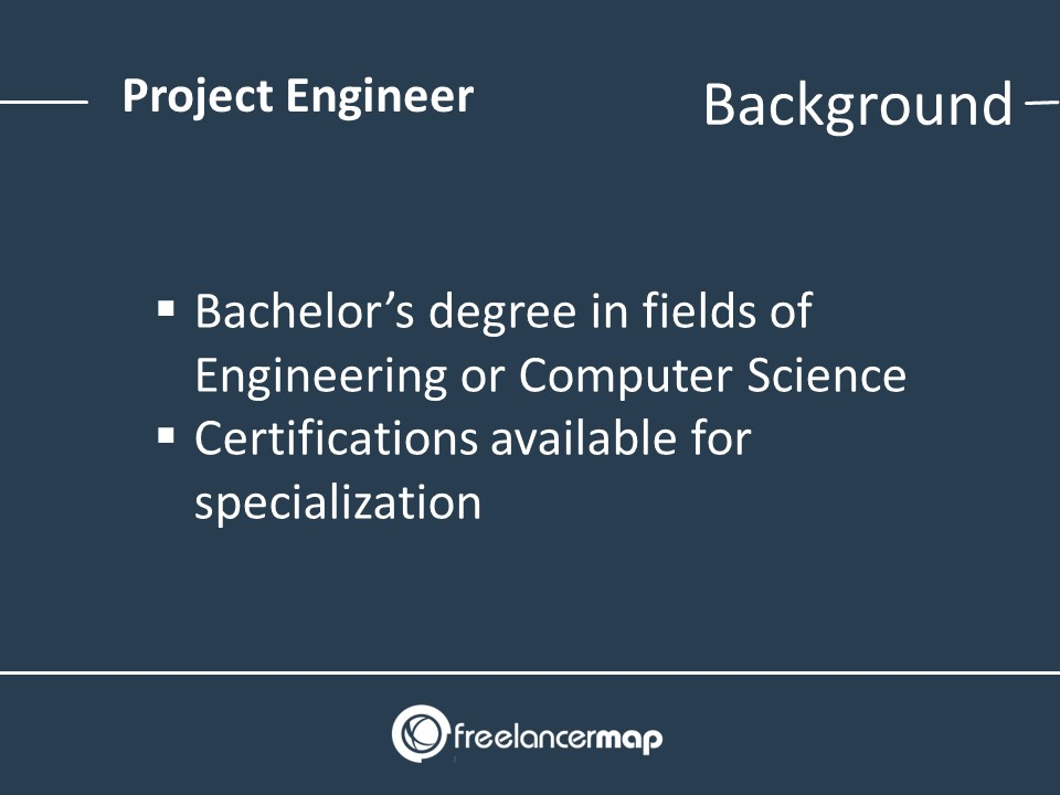 Project Engineer Background