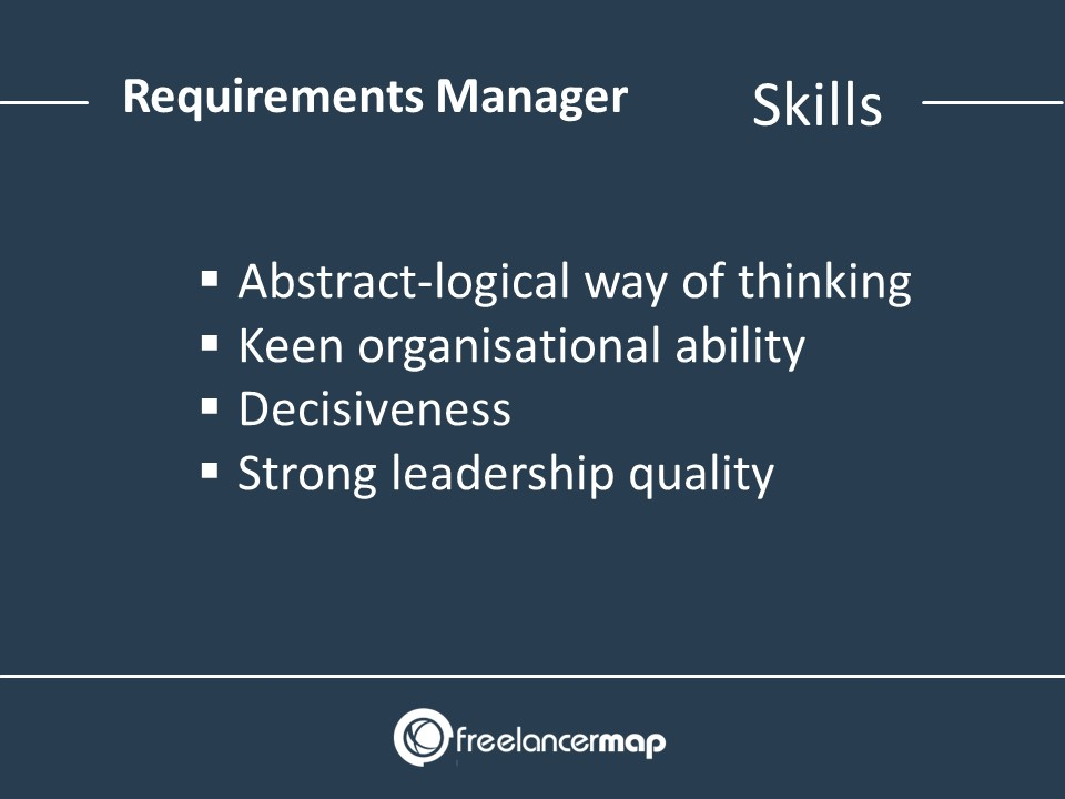 Requirements Manager Skills