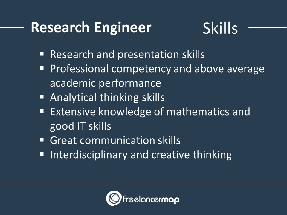 Research Engineer Skills