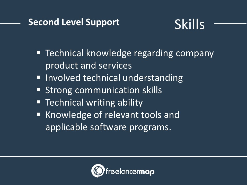 Second Level Support Skills