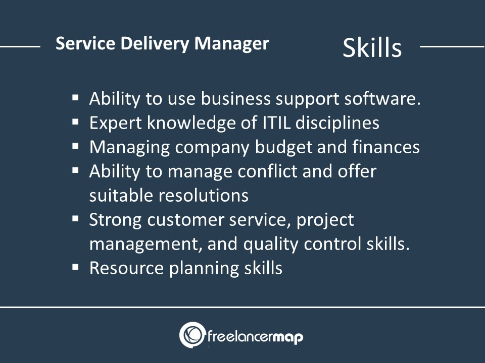 Service Delivery Manager Skills