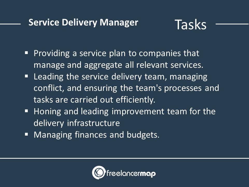 Service Delivery Manager Responsibilities