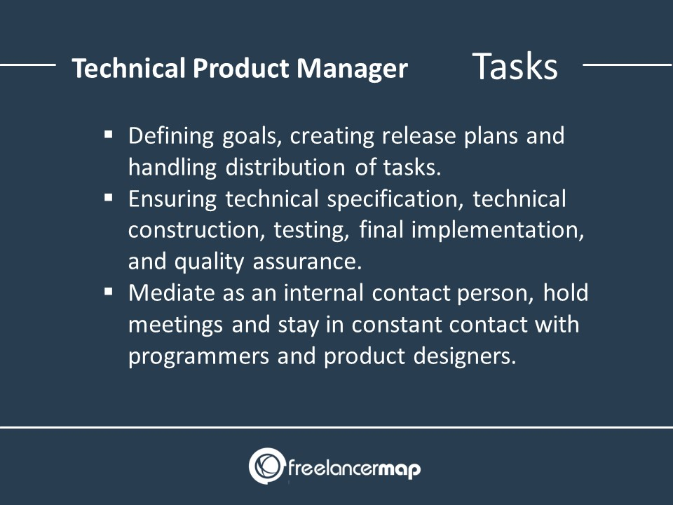Technical Product Manager – Responsibilities