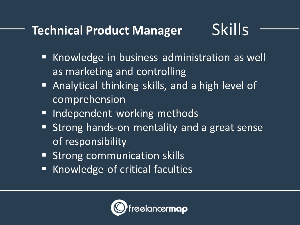 Technical Product Manager – Skills
