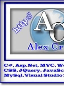 Profileimage by Alexander Cruz Independent Sofware Developer. Web and Client/Server from VegaBaja